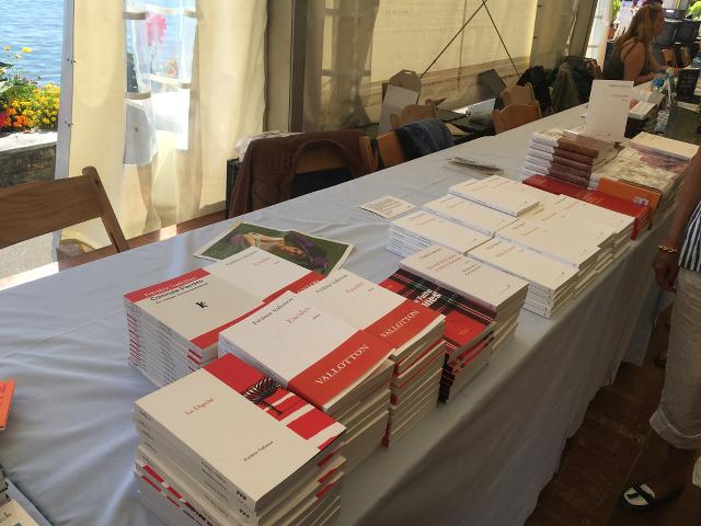 Les auteurs des éditions Olivier Morattel sont en pause